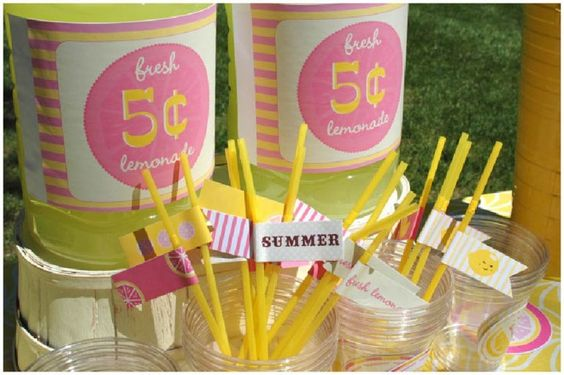 summer pink lemonade party!