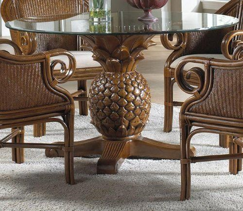 Pineapple Dining Table, Pineapple Dining Room Chairs