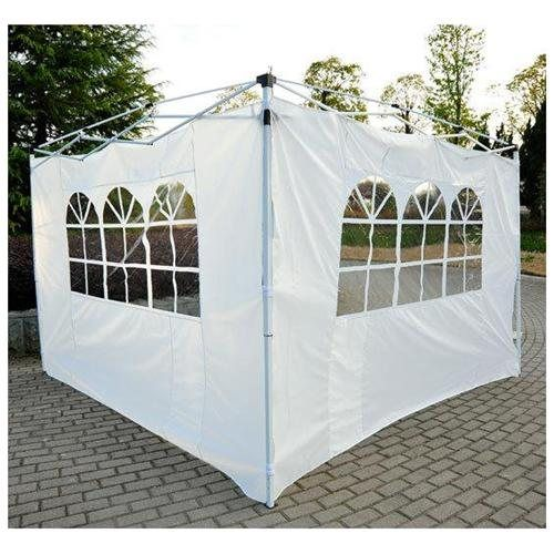Outsunny Pop Up Tent Replacement Side / End Wall w/ Windows- 2 PACK - White