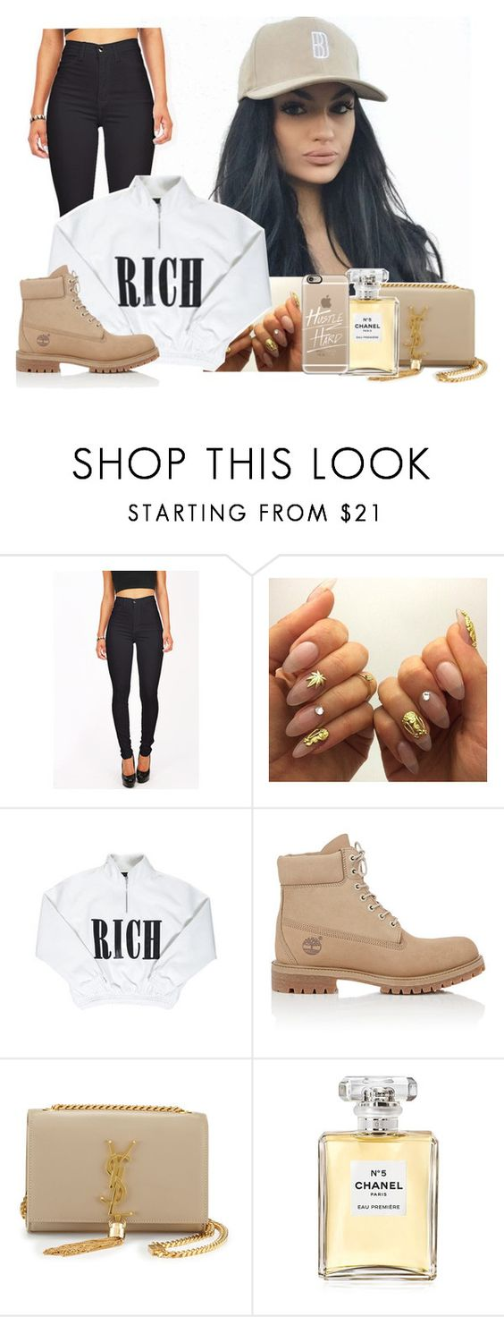 """""""I'll Be There X Justin Bieber"""" by jo-ellehadi ❤ liked on Polyvore featuring Cotton Candy, Timberland, Yves Saint Laurent, Chanel, Casetify, women's clothing, women's fashion, women, female and woman"""