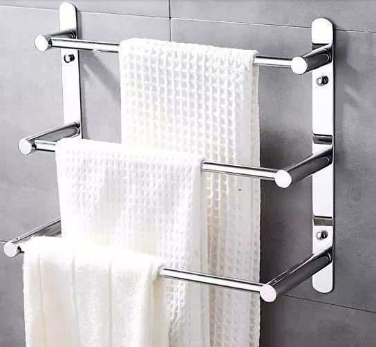 Towel Rack Bathroom Diy, Bathroom Wall Towel Rack
