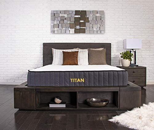Buy Brooklyn Bedding Titan 11 Inch Titanflex Hybrid Mattress Titancaliber Coils Queen Online Alyssafavour In 2020 Brooklyn Bedding King Furniture Hybrid Mattress