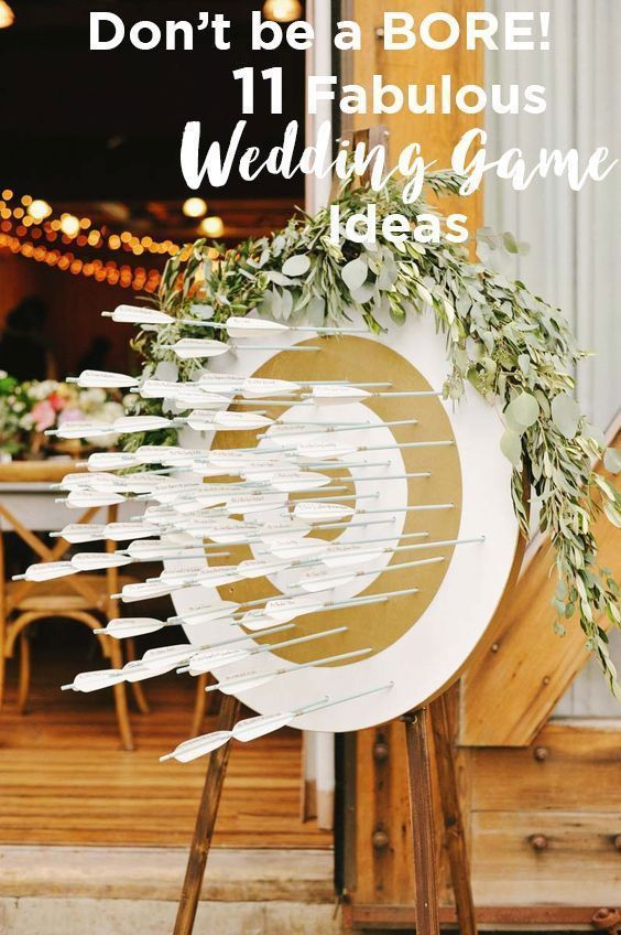 11 Cool Games For Your Wedding Reception Weddingmix Indoor Wedding Games Wedding Reception Games Wedding Games