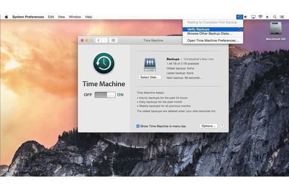 You've gone to all the trouble to create a Time Machine backup. Maybe you should make sure it works.