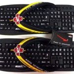 Kito keyboard massage slippers