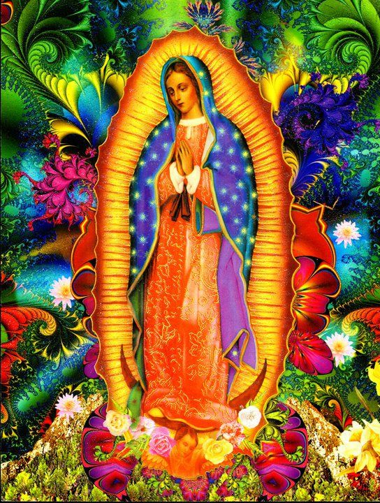 Virgin of guadalupe celebration