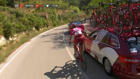 67 KM a meta / to go - Etapa / Stage 17 - La Vuelta a España 2016