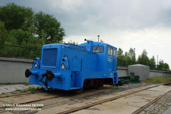 Kohlebahn Bahnhof Meuselwitz 08.06.2008