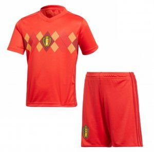 2018 World Cup Youth Kit Belgium Home Replica Red Suit  BFC336 ... 3a5ce98e2