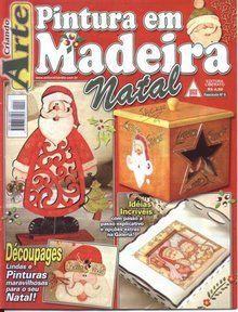 Pintura em Madeira - Natal