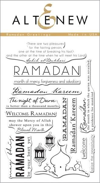 Ramadan Greetings Stamp Set - Altenew  - 1