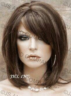 Phenomenal Side Bangs Medium Lengths And Bangs On Pinterest Short Hairstyles Gunalazisus