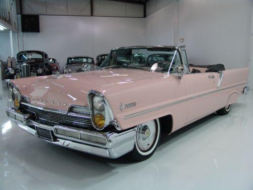 pink 1957 lincoln vertical headlights pinterest. Black Bedroom Furniture Sets. Home Design Ideas