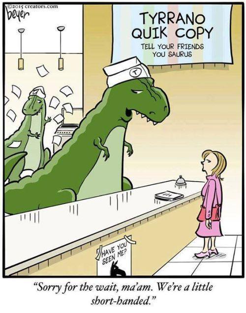 12 Dinosaur Puns To Make You Roar T Rex Humor Funny Cartoons Dinosaur Funny