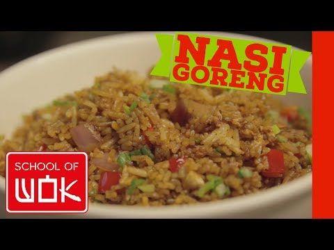How To Make Nasi Goreng Fried Rice Youtube Nasi Goreng Fried Rice Food