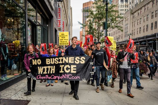 Hundreds Of Activists And Immigration Advocates Took To The Streets In New York City On A Protest To Demand An End To Sale Channing Tatum Zombie Apocalypse Survival New York Street