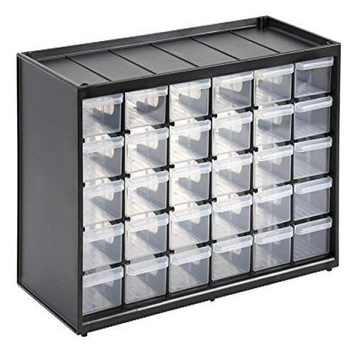 Stanley 1 93 980 Rangement Organiseurs Casier 5 Etages 30 Compartiments Casier Rangement Rangement Visserie Rangement