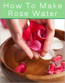 How to make both Rose Water and Lavendar Water too