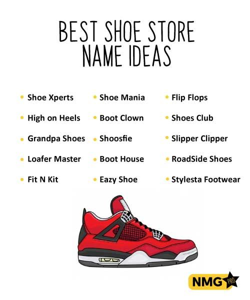 Generate Shoe Store Name Ideas in 2020