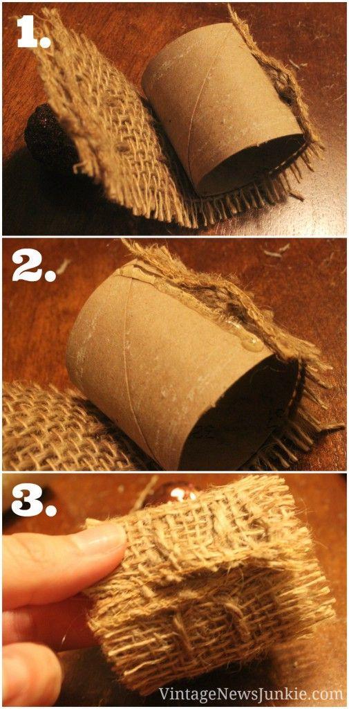 20 id es pour d corer votre table de no l nature - Des idees pour decorer sa maison ...