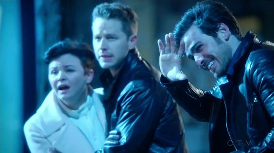 """Mary Margaret, David and Hook - 4 * 22 """"Operation Mongoose Part 2"""""""