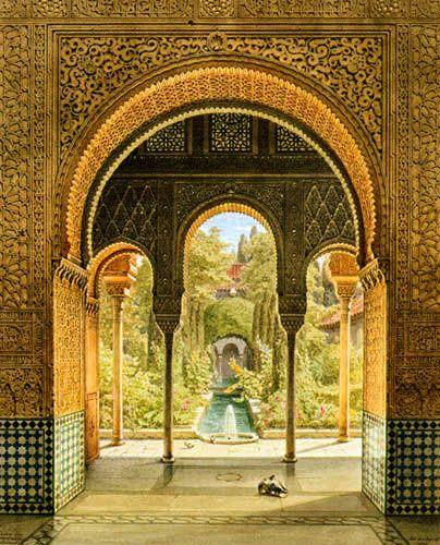 Alhambra de Granada, España...¿ Hay cosa más bonita en el mundo?