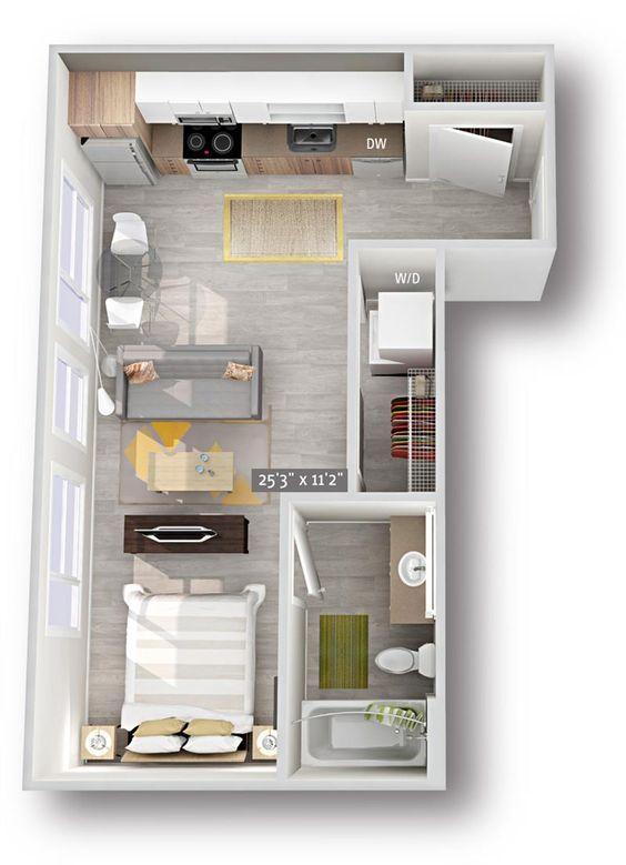 25 Denah Rumah Minimalis Modern Untuk Inspirasi Hunian Idaman Denah Rumah Rumah Minimalis Rumah