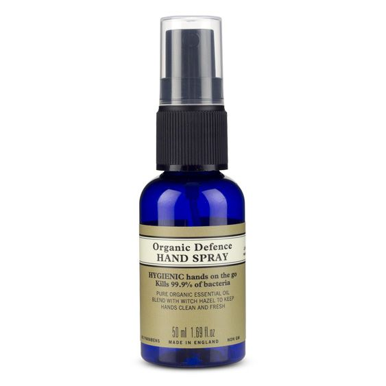 Organic Defence Hand Spray 50ml Organic Body Lotion Natural