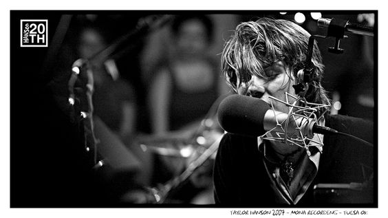 Photo 91 of 365  Taylor Hanson 2007 - MONA Recording - Tulsa OK    In this shot Taylor is performing during the Middle Of Nowhere Acoustic recording in 2007. This is one of our favorite products we've released. Does anyone have a favorite moment during this DVD?    #Hanson #Hanson20th