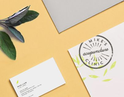 Acupuncture Clinic Identity