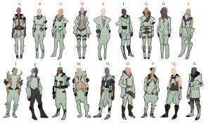 cyberpunk fashion by mythrilgolem1