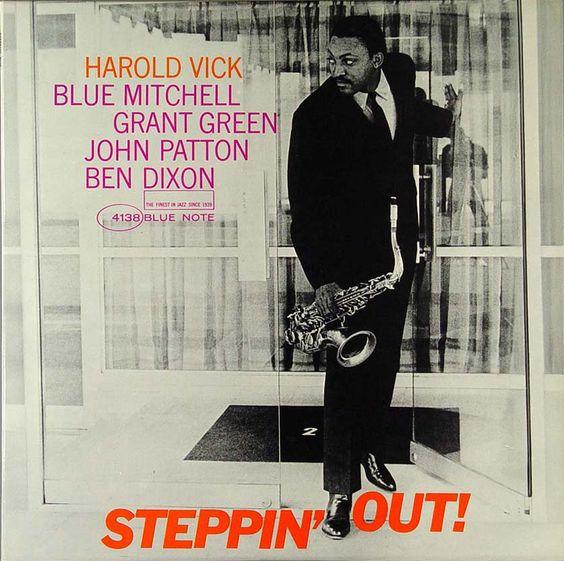 Harold Vick - 1963 - Steppin' Out