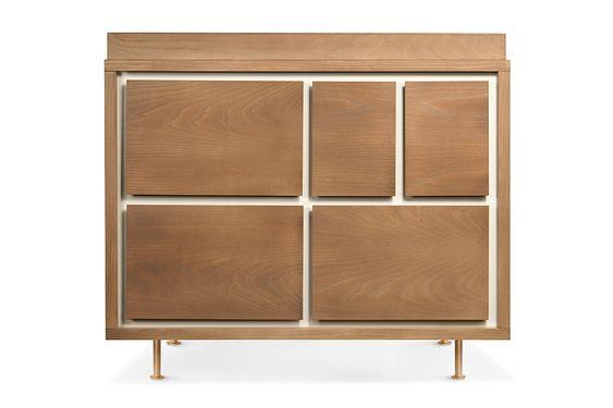 Novella 5-Drawer Dresser & bassinet | Nursery Works | $1395