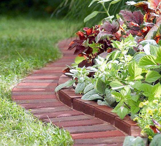Landscape Trim Concepts Brick Garden Brick Garden Edging Garden Edging