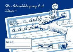 Elbi Schreiblehrgang Lateinische Ausgangsschrift  Schreiben lernen / ABC lernen für Grundschulen und Förderschulen    Dieser Schreiblehrgang dient dem Lernen und Schreiben der Schreibschrift.  Als Ausgangsschrift ist hier die Lateinische Ausgangsschrift nach dem ABC vorgeschrieben.    - Vorgeschriebene Buchstaben und Buchstabenverbindungen in Konturschrift zur Führungshilfe für den Schreibanfänger  - Leerzeilen zur individuellen Wortvorgabe durch den Lehrer  - schulbuchunabhänig  ...
