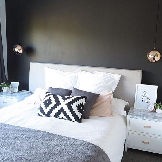 Best Dark Painted Walls Blush And Marbles On Pinterest 400 x 300