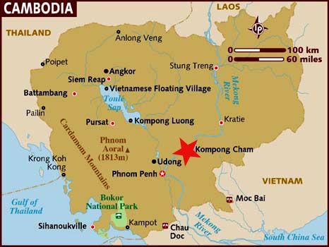 camboya mapa - Buscar con Google