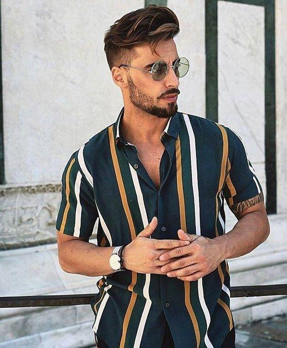 Moda Masculina 2019. Macho Moda - Blog de Moda Masculina: Tendências Masculinas para o VERÃO 2019 - Roupa de Homem, Moda Verão Masculina 2019. Listras Verticais