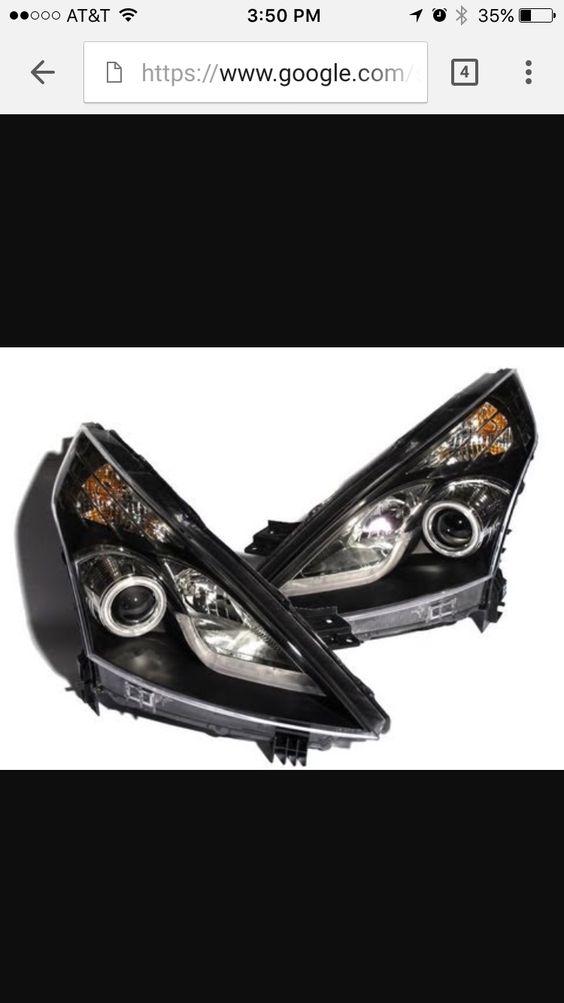 Nissan Maxima 08 black out halo headlights