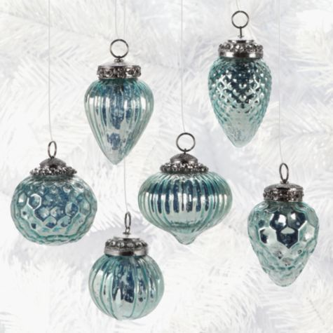 z gallerie mini glass ornaments