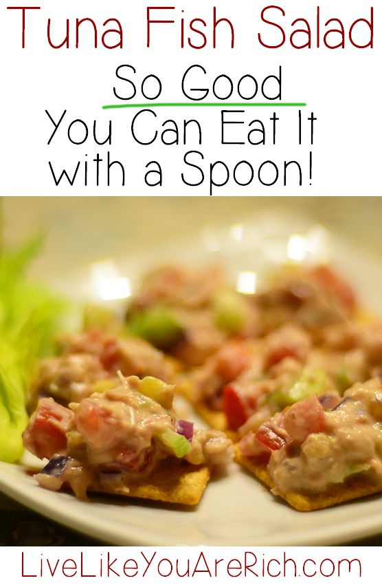 The best tuna salad recipe awesome celery and tuna for Recipes with tuna fish