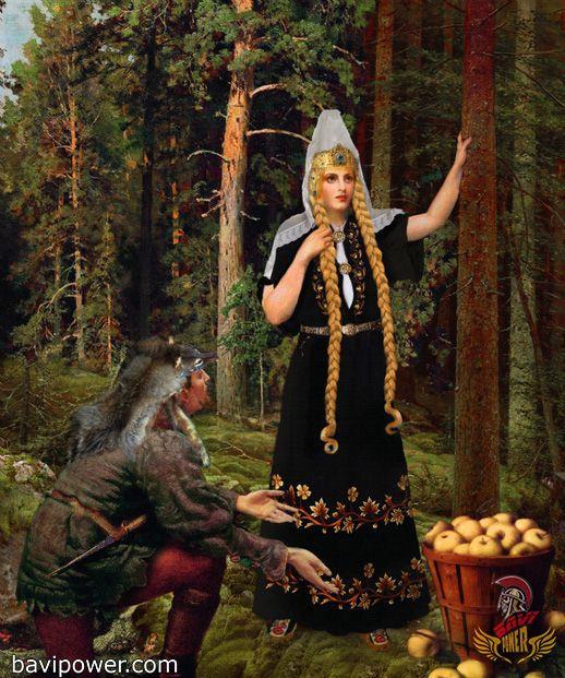 The Kidnapping Of Idun Norse Goddess Norse Myth Norse
