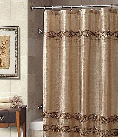 Croscill Jasmin Shower Curtain #Dillards | Bathroom inspiration ...