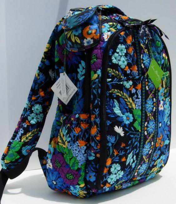 Vera Bradley ~ Backpack Baby Bag & Pacifier Pod in Midnight Blues ~ NWT  #VeraBradley #Backpack