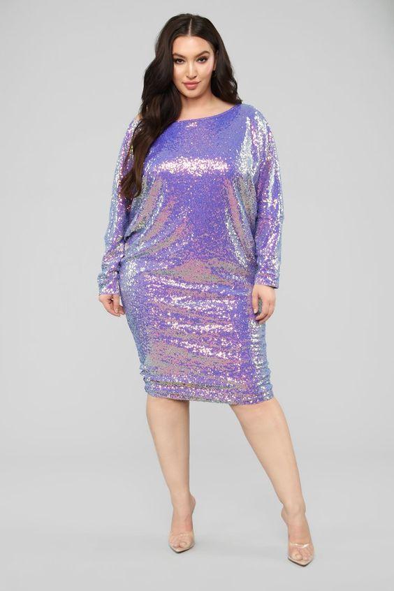 Gonna Love Me Dress - Purple