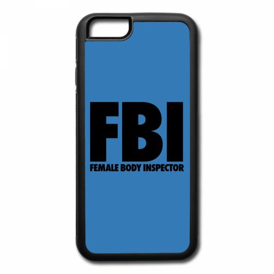 fbi female body inspector iPhone 7 Plus Case