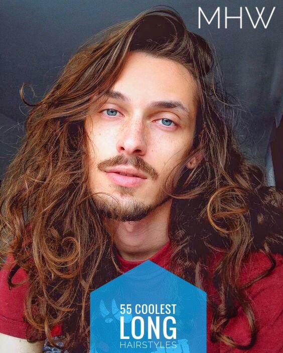 55 Coolest Long Hairstyles For Men Long Hair Styles Men Long Hair Styles Mens Hairstyles