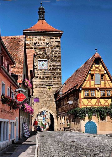 Rothenburg ob der Tauber, Gateway  WE would go back in a minute!!  Great vacation!!