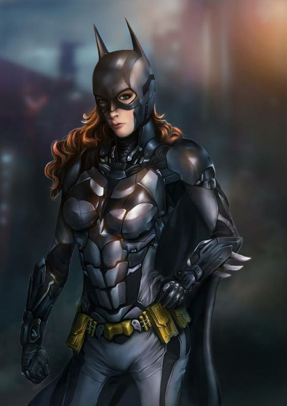 Definitely one of the best Batgirl renderings I've seen. For once she's not just a pin up vixen. This chick looks like she could wreck you.