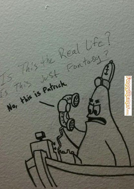 Bathroom Wall Graffiti funny memes bathroom graffiti at it's finest | funny memes